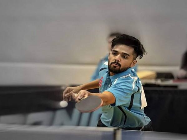 Table Tennis player Sanil Shetty (Photo/ Sanil Shetty Instagram)
