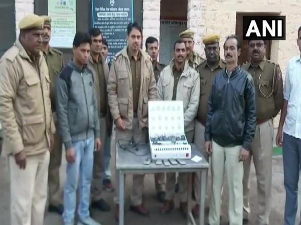 Police busted a cricket betting racket and arrested two people in Jodhpur (Photo/ANI)