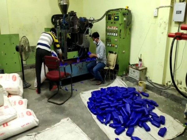 Visual from Rupsi cleaning and hygiene product factory (Photo/ANI)