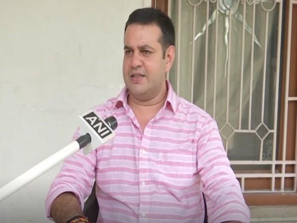 Lok Janshakti Party (LJP) MP from Nawada, Chandan Singh speaking to ANI (Photo/ANI)