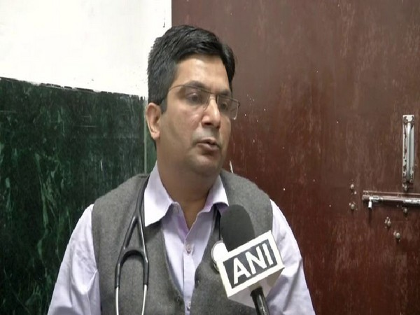 Cardiologist Dr Tarun speaking to ANI in New Delhi on Friday. Photo/ANI