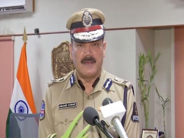 Anjani Kumar, IPS Commissioner of Police Hyderabad City (Photo/ANI)