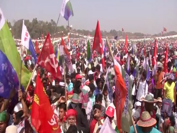 Congress-Left-ISF joint rally at Brigade ground in Kolkata