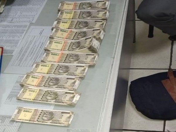 Central Industrial Security Force (CISF) recovered a bag containing fake currency notes at Kashmiri Gate Metro Station, New Delhi