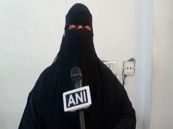 Haleema while speaking to ANI in Hyderabad