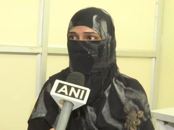 Rukhsana Begum while speaking to ANI (Photo/ANI)