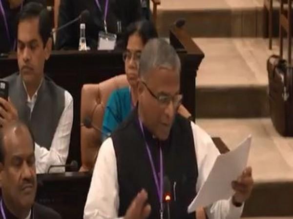 Deputy Chairman of Rajya Sabha Harivansh Singh