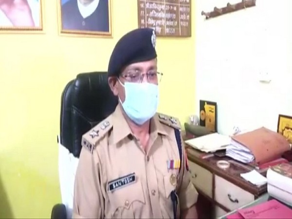Senior Superintendent of Police, Bulandshahr, Santosh Kumar Singh. (Photo/ANI)