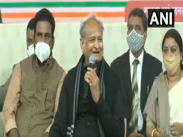 Rajasthan Chief Minister Ashok Gehlot (Photo/ANI)
