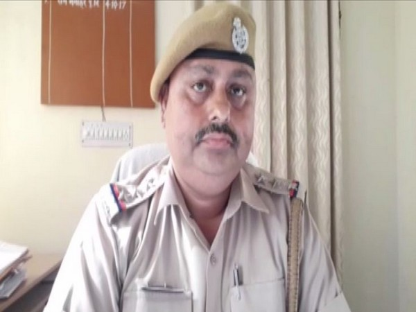 Virendra Sharma, Station House Officer (SHO), Udyog Nagar, Rajasthan (Photo/ANI)
