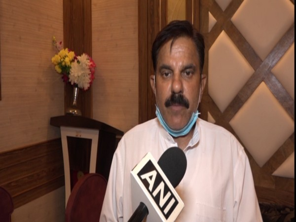 Jammu and Kashmir National Panthers Party Chairman Harsh Dev Singh speaking to ANI.