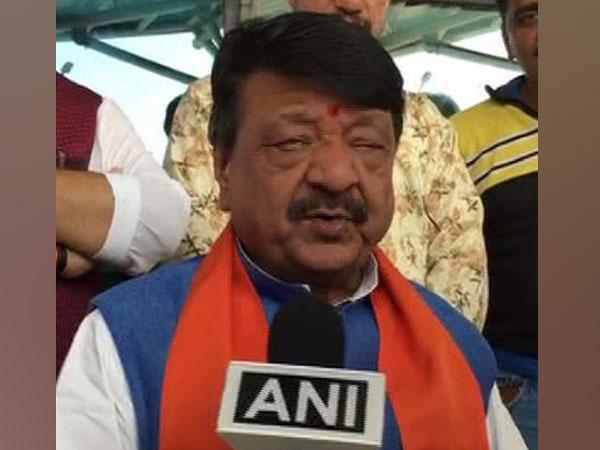 BJP leader Kailash Vijayvargiya talking to ANI of Sunday. Photo/ANI