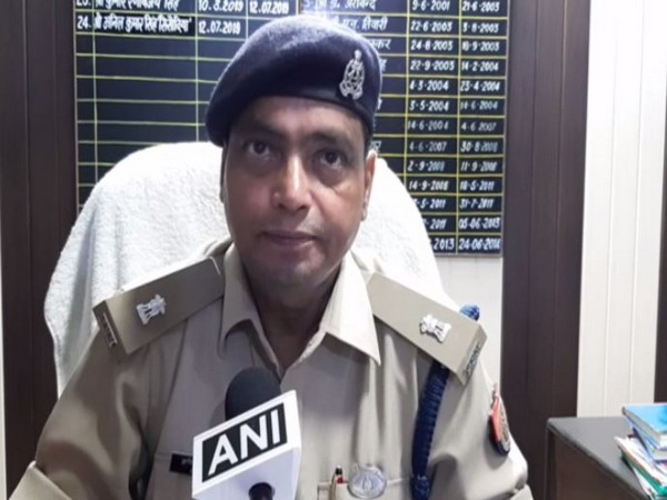 Anil Kumar Singh, Senior Superintendent of Police (SSP) while speaking to ANI on Saturday (ANI)