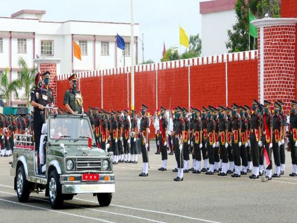 24 Gentlemen Cadet commissioned as officers in Indian Army in Telangana. [Photo/ANI]