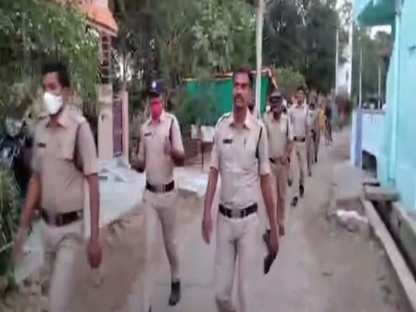Police holds flag march in sensitive areas of Visakhapatnam district
