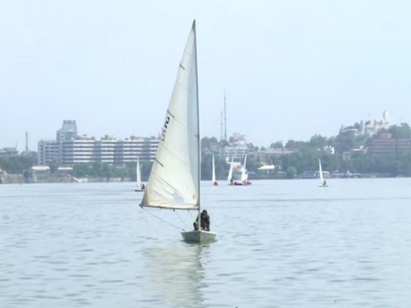 On-going training sessions for upcoming EME sailing competition (Photo/ANI)