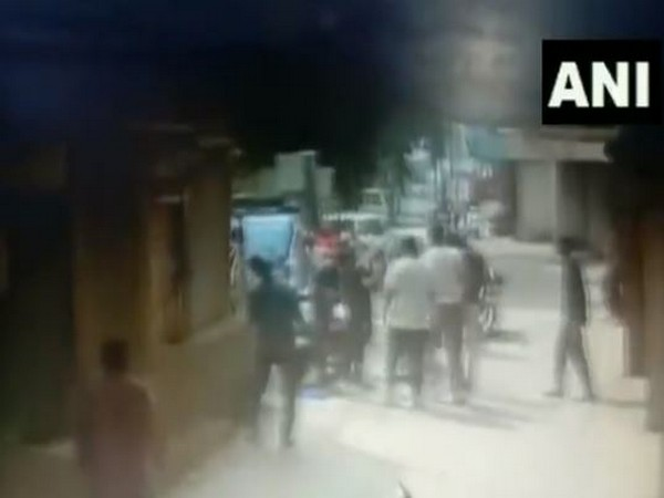 Video footage of the incident