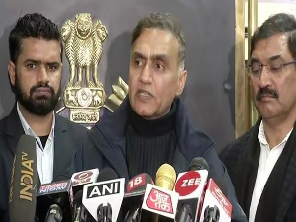 PS Kushwaha, DCP (Special Cell), Delhi while speaking to the reporters on Thursday (Photo/ANI)