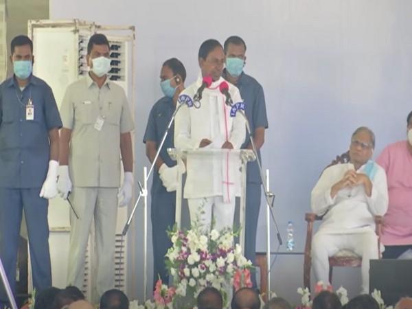 Telangana Chief Minister K Chandrasekhar Rao (Photo/ANI)