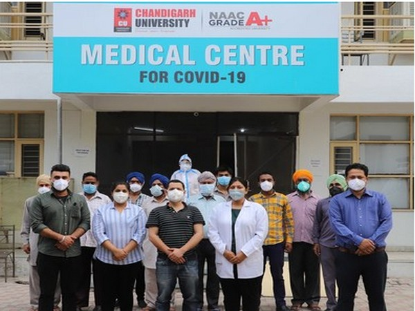 Chandigarh University COVID Care facility comes to the rescue of corona patients in Mohali