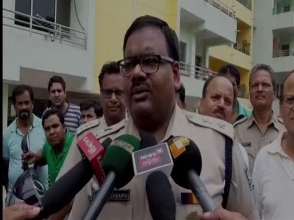 Sarthak Sarangi, SP Rourkela speaks to media on Sunday. [Photo/ANI]