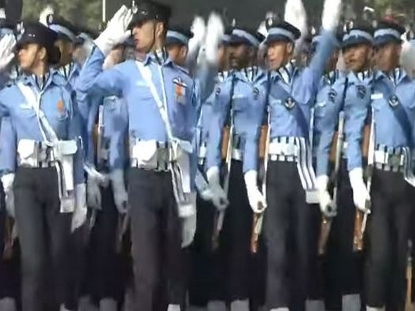 IAF has adjudged best marching contingent among 3 services at R-Day parade.