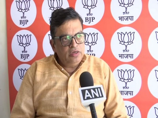 BJP Spokesperson for Economic Affairs, Gopal Krishna Agarwal while speaking to ANI on Monday (Photo/ANI)