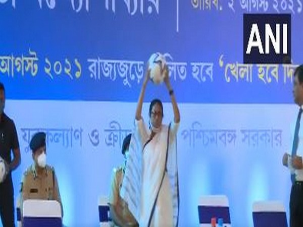 West Bengal Chief Minister Mamata Banerjee at an event in Kolkata (Photo/ANI)