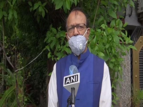 Bahujan Samaj Party (BSP) National Spokesperson Sudhindra Bhadoria speaking to ANI on Sunday. (Photo/ANI)