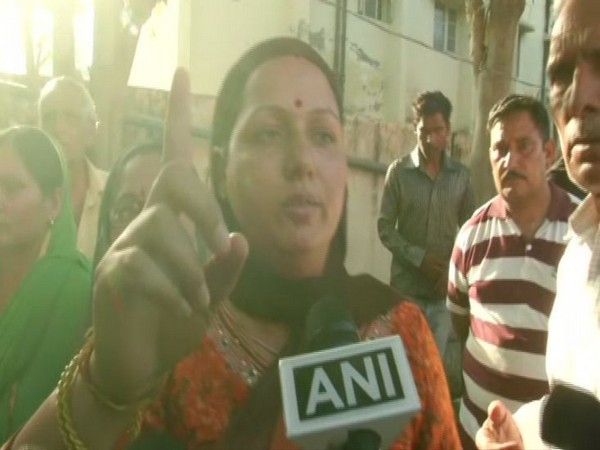 Family member of Sanji Ram speaking to ANI in Pathankot on Monday. Photo/ANI