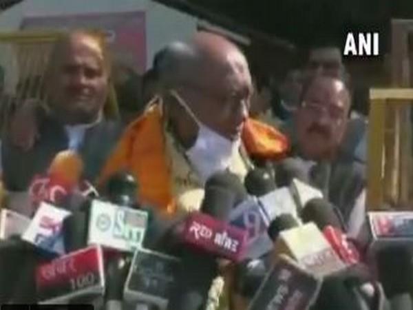 Congress leader Digvijaya Singh. (Photo/ANI)