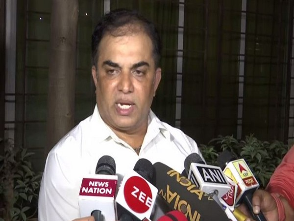 Counsel of the survivor, Nitin Satpute, speaking to media persons on Thursday. Photo/ANI