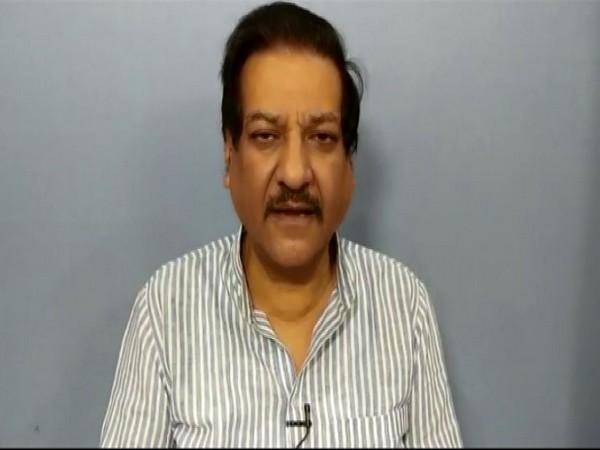 Former Maharashtra Chief Minister and Congress leader Prithviraj Chavan.