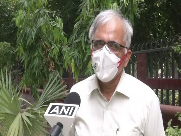 Council of Scientific and Industrial Research (CSIR) Director-General Shekhar Mande speaking to ANI (Photo/ANI)
