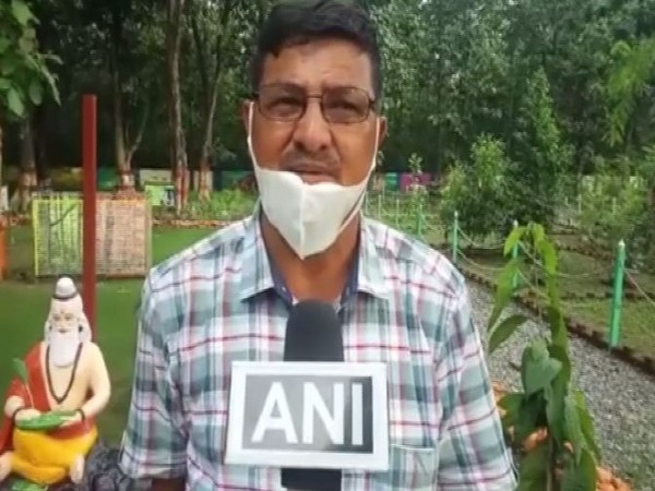 Forest Officer Madan Singh speaking to ANI