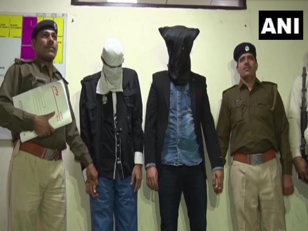 Iranian nationals arrested by Gurugram Police (Photo/ANI)