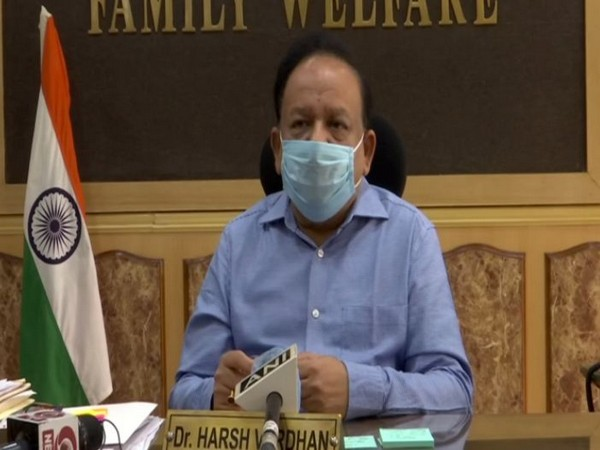 Union Health and Family Welfare Minister Dr.Harsh Vardhan. (Photo/ANI)