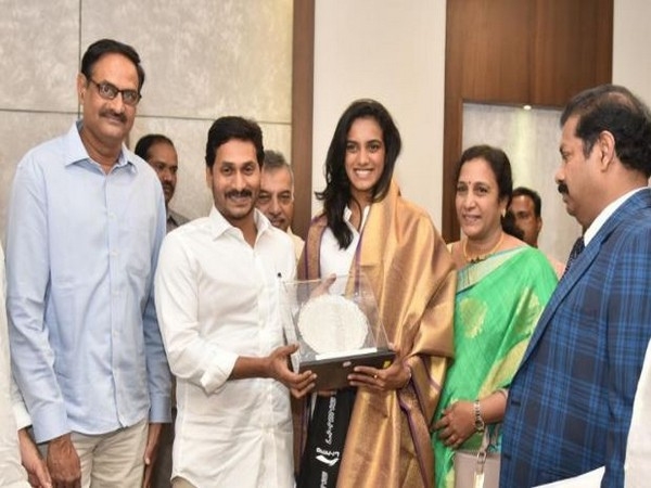 5 Acres of Land gifted to PV Sindhu by AP CM Jagan Mohan Reddy