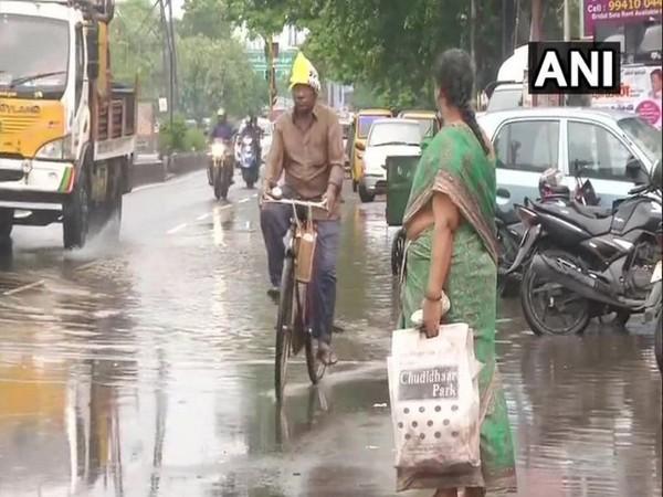 Rain lashes several parts of Tamil Nadu on Sunday (Photo/ANI)