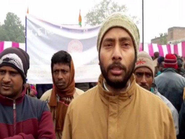 Refugees from Pilibhit speaking to ANI on Tuesday. (Photo/ANI)