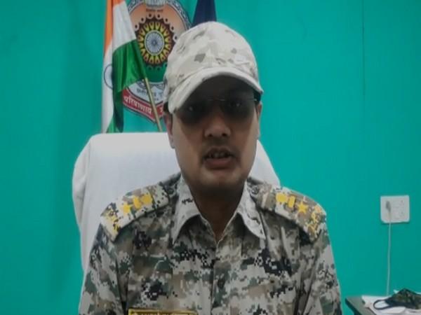 Superintendent of Police, Dantewada Abhishek Pallav speaking to ANI