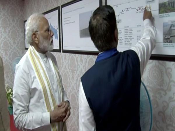 Prime Minister Narendra Modi inaugurated the New Jharkhand Vidhan Sabha building in Ranchi on Thursday. (Photo/ANI)
