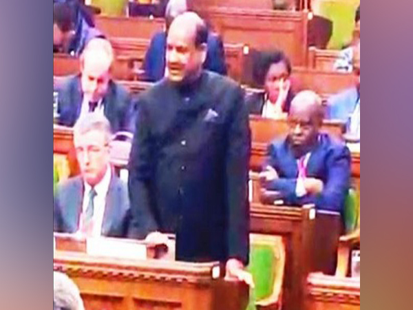 Lok Sabha Speaker Om Birla addressing the Speakers and Presiding Officers of Parliaments of Commonwealth countries in Ottawa