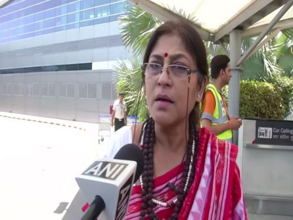 BJP leader Roopa Ganguly speaks to ANI in New Delhi on Saturday. [Photo/ANI]