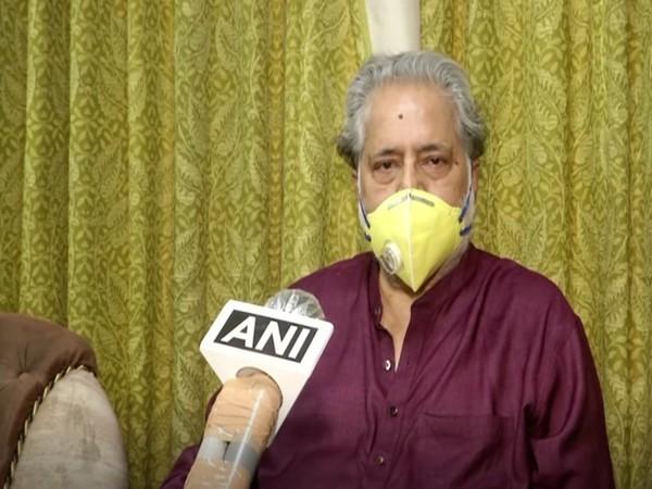 Trinamool Congress (TMC) Lok Sabha MP Sudip Bandyopadhyay speaking to ANI on Sunday (Photo/ANI)