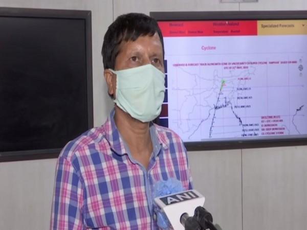 Rajendra Kumar Jenamani, head of Regional Specialised Meteorological Centre speaking to ANI on Monday (Photo/ANI)