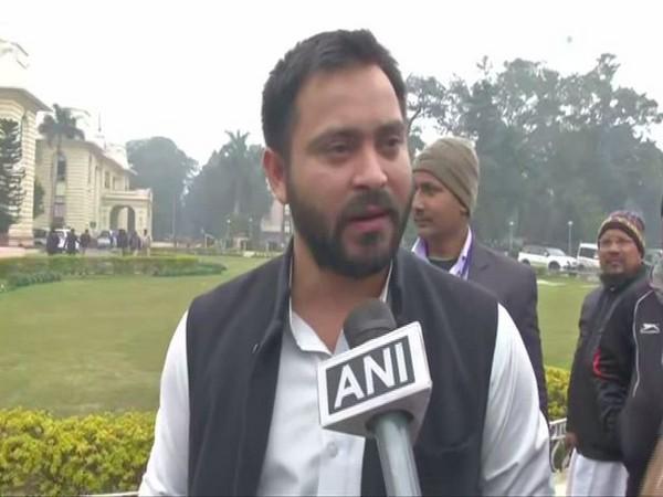 Rashtriya Janata Dal (RJD) leader Tejaswi Yadav (File Photo/ANI)