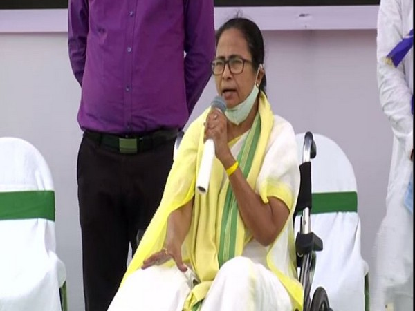 West Bengal Chief Minister Mamata Banerjee in Cooch Behar (Photo/ANI)
