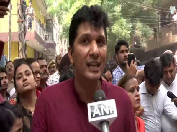 AAP MLA and Spokesperson Saurabh Bharadwaj speaking to ANI on Thursday in New Delhi. Photo/ANI