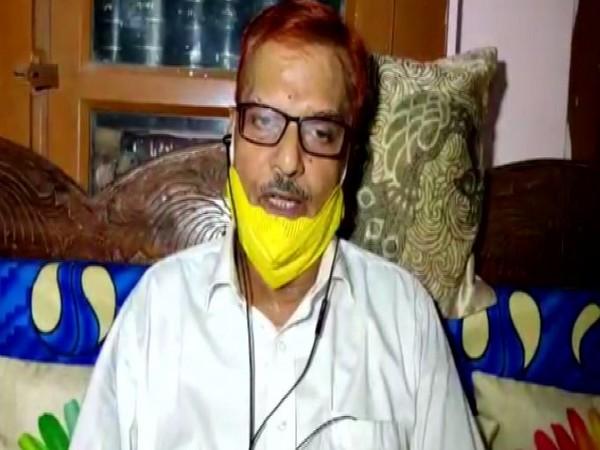 Anish Jha, lawyer of BJP MLA Niraj Kumar Singh. (Photo/ANI)